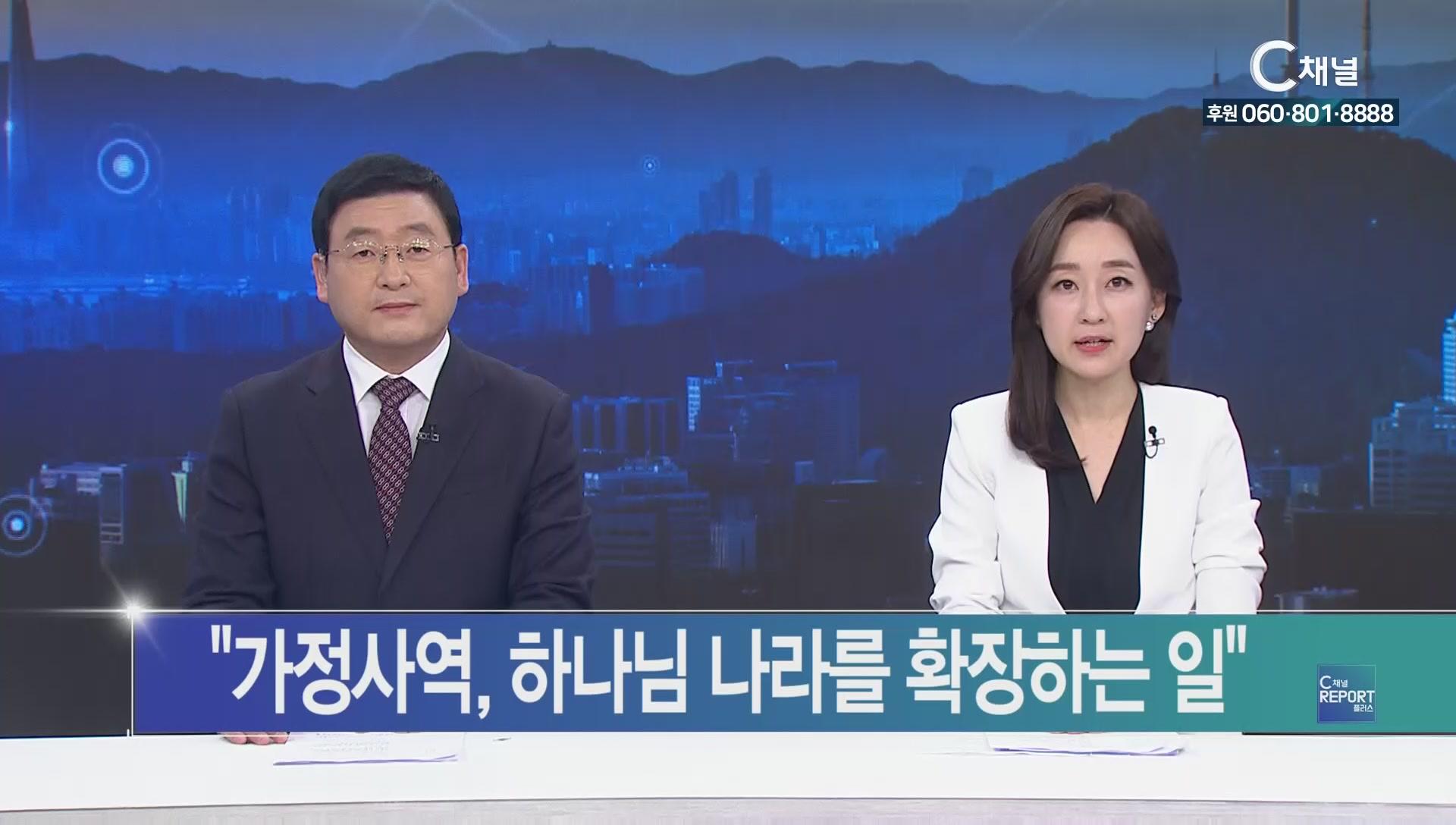 C채널 REPORT 플러스 2019년 11월 15일 C채널 뉴스