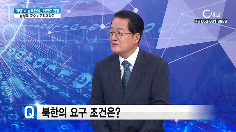 '격랑' 속 남북관계...한반도 긴장 남성욱 교수