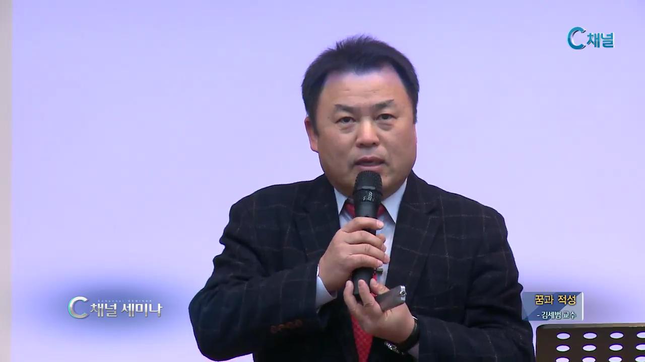 C채널 세미나 150회 꿈과 적성 김세범 교수