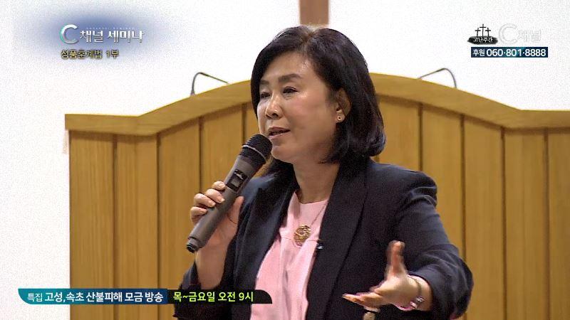 C채널 세미나 257회 성품훈계법 1부